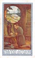 Image Religieuse Ermitage De Frère Joseph (Pierre Joseph FORMET)  VENTRON (Vosges) VOIR 2 SCANS - - Images Religieuses
