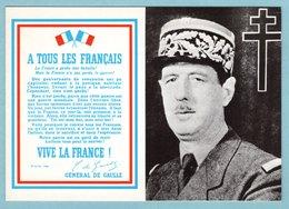 CP - L'appel Du 18 Juin Du Général De Gaulle - War 1939-45