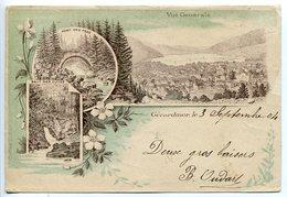 Pionnière * GERARDMER Multivues 3 Vues : Générale - Pont Des Fées - Saut Des Cuve - Carte Mince - Gerardmer