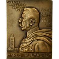 Algeria, Médaille, Exposition Coloniale De Paris, Maréchal Lyautey, 1931 - Autres