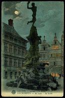 ANTWERPEN - ANVERS - BRABO, Bij Nacht - Le BRABO La Nuit - Circulé - Circulated - Gelaufen. - Antwerpen