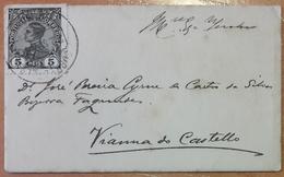Portugal - COVER - Stamp: 5 Reis D. Manuel II - Cancel: Viana Do Castelo (Vianna Do Castello) - Lettere