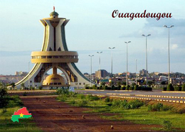 Burkina Faso Ouagadougou National Heroes Monument New Postcard - Burkina Faso