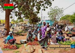 Burkina Faso Ouagadougou Street Market New Postcard - Burkina Faso