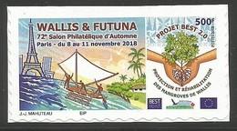 WALLIS ET FUTUNA - Timbre Personnalisé - 2018 - Salon D'Automne De Paris - Ungebraucht