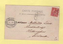 Type Mouchon - Destination Finlande - Gare De Nice - 1877-1920: Période Semi Moderne