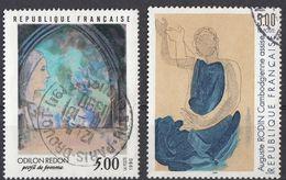 FRANCE - 1990 - Lotto Di 2 Valori Usati: Yvert 2635/2636. - Frankreich
