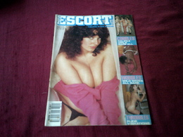 ESCORT  PUBLISHED BY PAUL RAYMOND VOLUME  9 N° 11   / 1989 - Men's