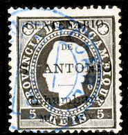 !■■■■■ds■■ Inhambane 1895 AF#01ø St.Anthony K.Luiz 5 Réis (x12923) - Inhambane