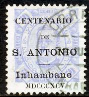 !■■■■■ds■■ Inhambane 1895 AF#10ø St.Anthony K.Carlos 50 Réis 11,5 (x12903) - Inhambane