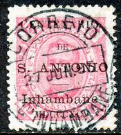 !■■■■■ds■■ Inhambane 1895 AF#11ø St.Anthony K.Carlos 75 Réis (x12902) - Inhambane