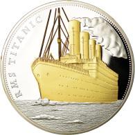 France, Médaille, 100ème Anniversaire Du Titanic, FDC, Cuivre Plaqué Argent - Etats-Unis
