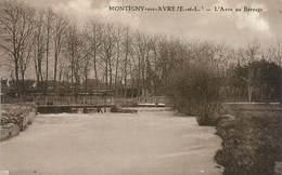 "CPA FRANCE 28 ""Montigny Sur Avre, Le Barrage"" - France"