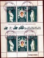 1978 25th Anniversary Of The Coronation 1953 M/s - Territoire Antarctique Britannique  (BAT)