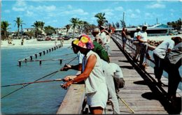 Florida Fort Myers Winter Fishing On The Pier - Fort Myers