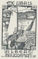 Ex Libris Albert Bruggeman - André Vlaanderen - Ex-libris