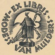 Ex Libris Modest Van Mulders -  - Ex-libris