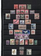 37 TIMBRES AFRIQUE DU SUD & SUD OUEST + CISKEI OBLITERES & NEUF** DE 1913 à 1981    Cote : 16,15 € - Oblitérés