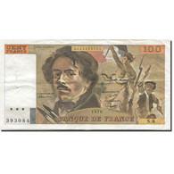 France, 100 Francs, Delacroix, 1978, 1978, SUP, Fayette:69.01f, KM:154a - 1962-1997 ''Francs''