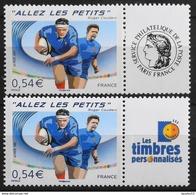 Timbres Personnalisés N°4032A Et Aa Allez Les Petits De 2007 Neuf** - Personalized Stamps