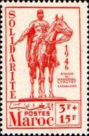 Maroc (Prot.Fr) Poste N** Yv:242 Mi:237 Statue Lyautey Casablanca - Ungebraucht