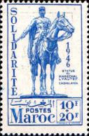 Maroc (Prot.Fr) Poste N** Yv:243 Mi:238 Statue Lyautey Casablanca - Ungebraucht