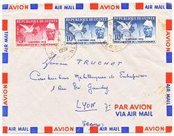GUINEE ENV 1959 FRA  LETTRE AVION - Guinee (1958-...)