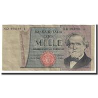 Billet, Italie, 1000 Lire, 1969, 1969-02-26, KM:101a, TTB+ - [ 2] 1946-… : Repubblica