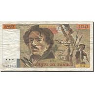 France, 100 Francs, Delacroix, 1978, 1978, TB, Fayette:69.01f, KM:154a - 1962-1997 ''Francs''