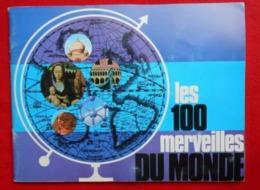 Album Chromos Les 100 Merveilles Du Monde / Timbres Tintin - Albums & Katalogus