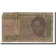 Billet, Madagascar, 500 Francs = 100 Ariary, 1994, Undated (1994), KM:75a, B - Madagascar