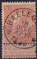 N° 57 Oblitération Dépôt-relais BAELEGEM - 1893-1900 Thin Beard