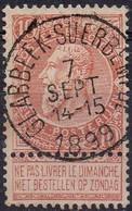 N° 57 Oblitération GLABBEEK-SUERBEMPDE - 1893-1900 Thin Beard