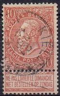 N° 57 Oblitération KIELDRECHT - 1893-1900 Thin Beard