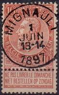 N° 57 Oblitération MIGNAULT - 1893-1900 Thin Beard