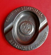 Ancien Cendrier Tabacs Gosset / Cigarettes St Michel - Metal