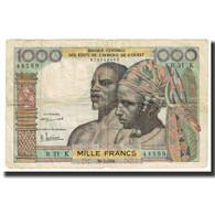 Billet, West African States, 1000 Francs, 1961, 1961-03-20, KM:103Ab, TB - Estados De Africa Occidental