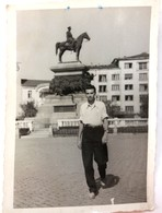 №39 Photography Of Monument To The Tsar Liberator, Russian Emperor Alexander II, Sofia - Bulgaria 1954, Old FOTO PHOTO - Places