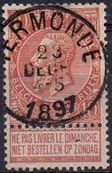 N° 57 Oblitération TERMONDE - 1893-1800 Fijne Baard