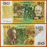Australia 50 Dollars 1991 XF/aUNC P-47h - Decimal Government Issues 1966-...