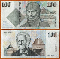 Australia 100 Dollars 1992 XF P-48d - Decimal Government Issues 1966-...