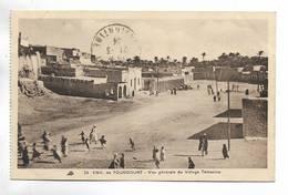 .ALGERIE - ENV. De TOUGGOURT- Vue Générale Du Village De Témacine. Animée - Algeria