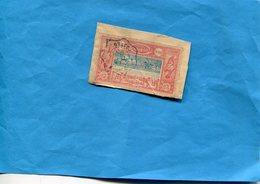 COTE DES SOMALIS-N°25 Oblitéré Sur Fragment De Lettre Cad Ondulé Dec 1906 - France (ex-colonies & Protectorats)