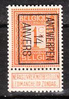 PRE44B**  Chiffre - Antwerpen 14 Anvers - Bonne Valeur - MNH** - LOOK!!!! - Precancels