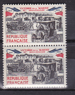 N° 1429  Cinquantenaire De La Vicroire De La Marne: Belle Paire De 2 Timbres Neuf Impeccable Sans Charnière - Unused Stamps