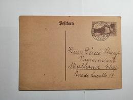Postkarte Saar 1931 - Allemagne