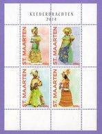 St. Maarten 2014. National Costumes. The Culture. MNH - Curaçao, Antilles Neérlandaises, Aruba