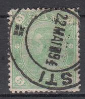 ROEMENIË - Michel - 1894 - Nr 96 Wz1X (T/D 13 1/2 : 13 1/2) - Gest/Obl/Us - 1881-1918: Charles I