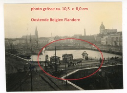 RP -   Oostende - Flandern   (4-6)  -    WWI  -   Photo Allemande  1914-1918 - Non Classés