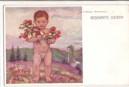 K 833, OLD FANTASY  POSTCARD  , CHILDREN , FINE ART , PAINTINGS ,  WACHSMANN - Enfants